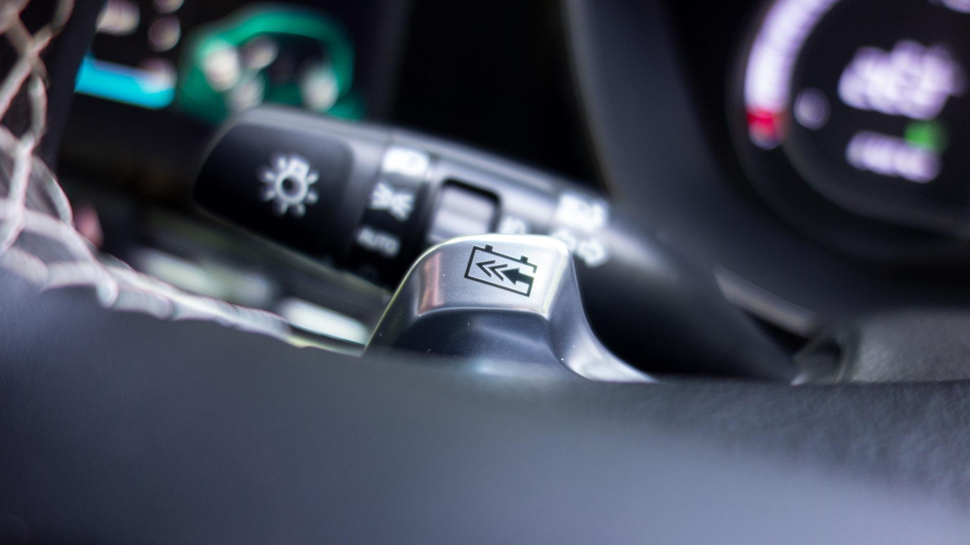 Kia e-Niro regenerative braking