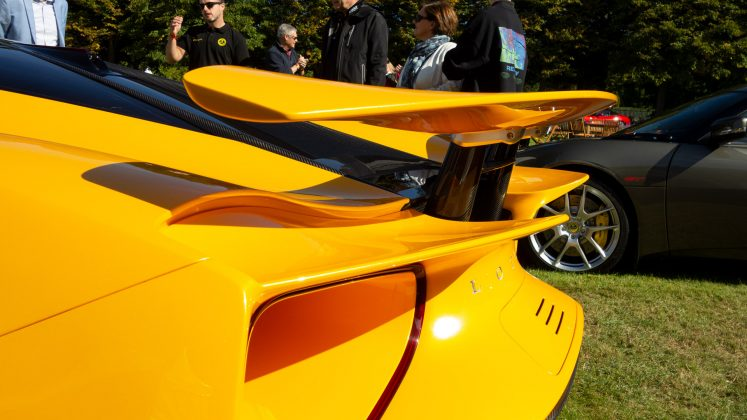 Lotus Evija aerodynamics