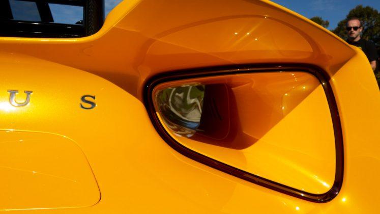 Lotus Evija air duct