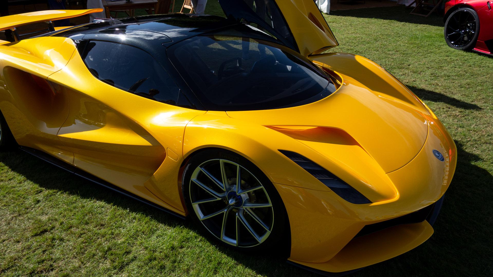 Lotus Evija close up