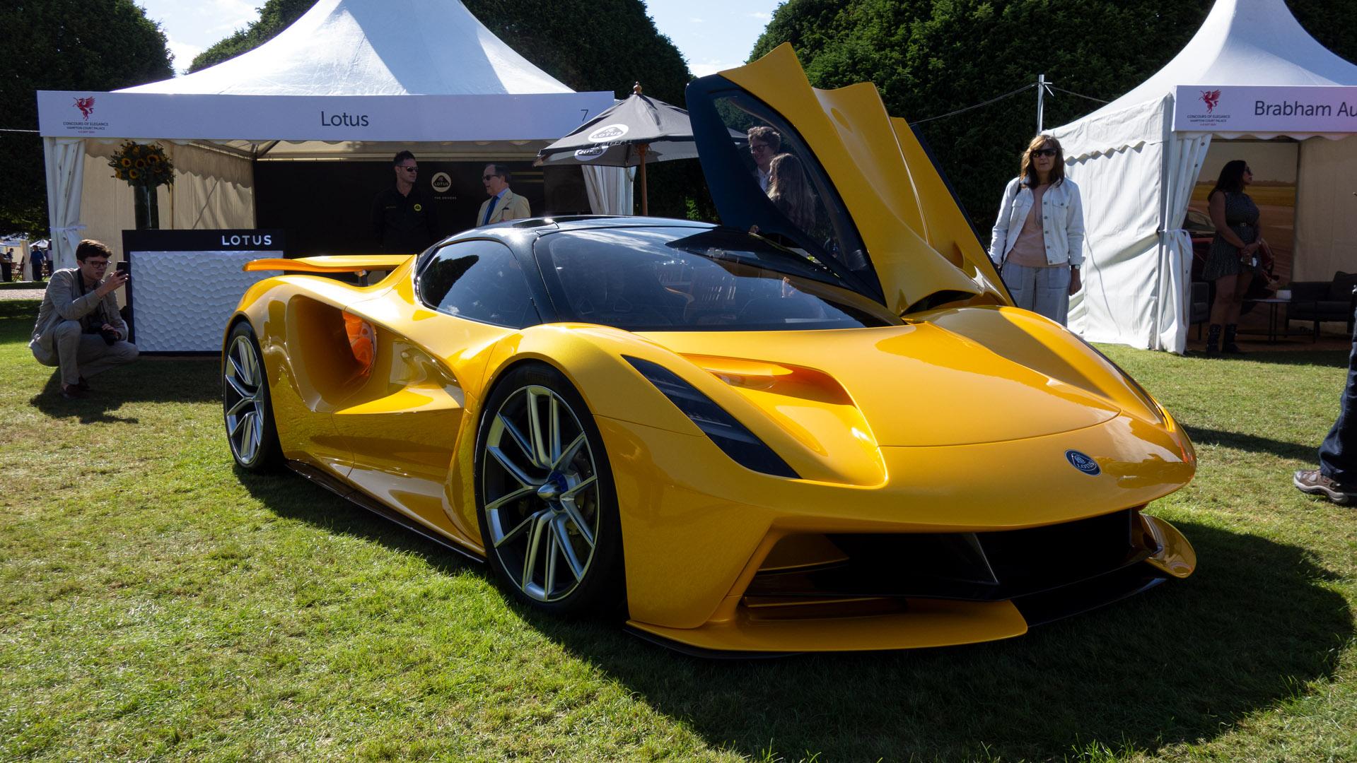 Lotus Evija doors