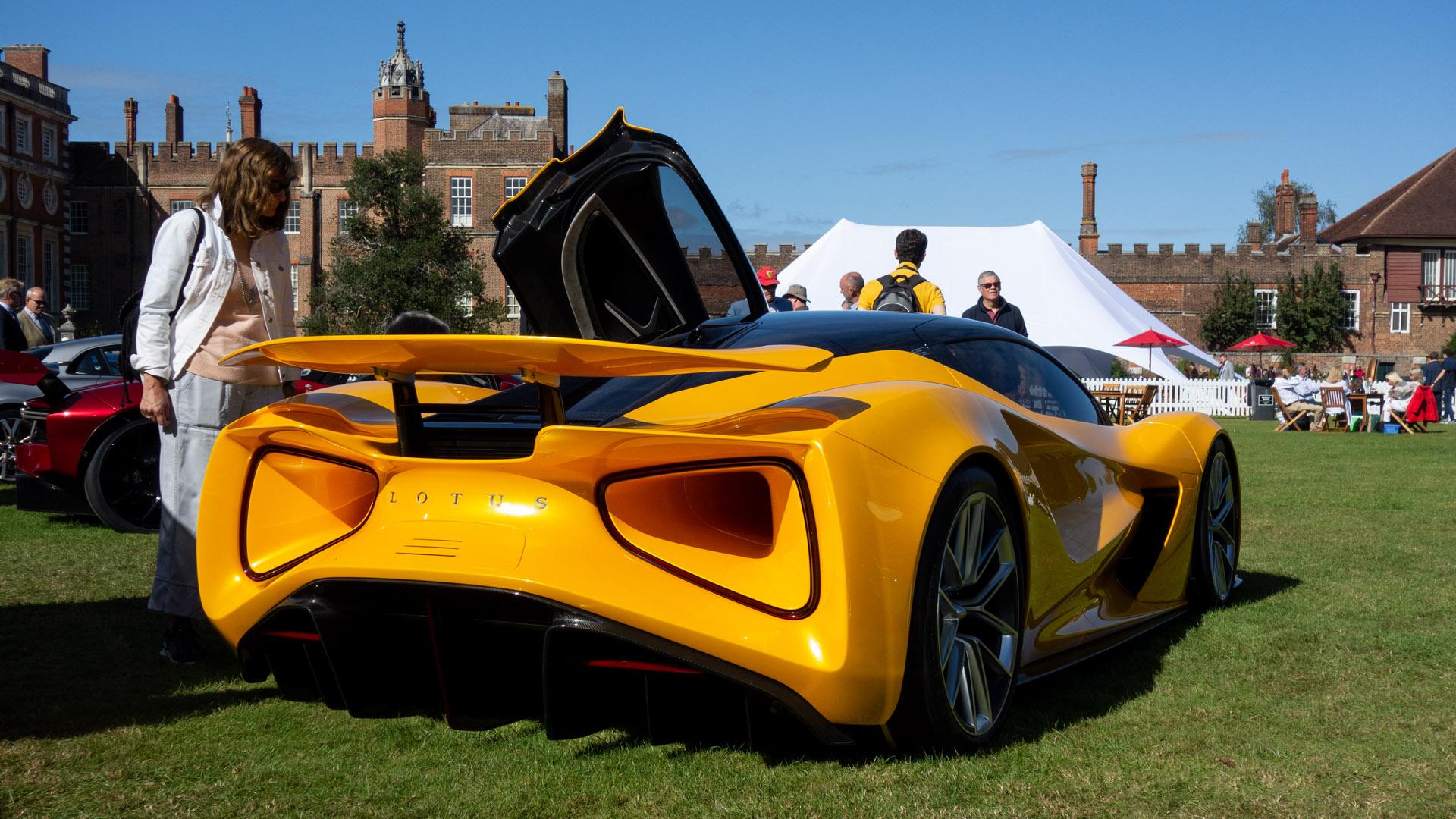Lotus Evija rear design