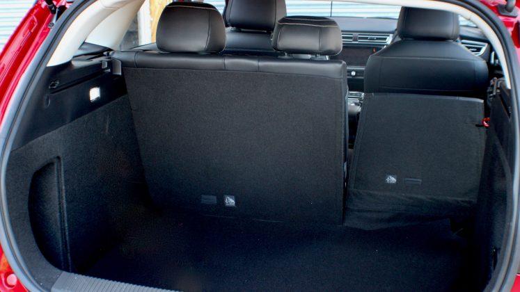 MG5 EV seats