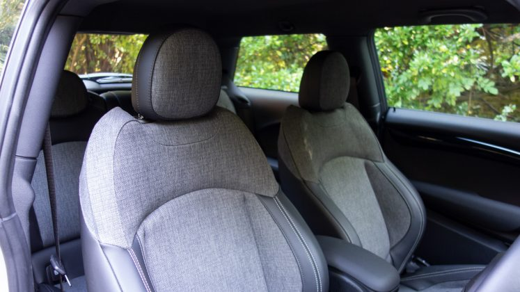 Mini Electric front seats