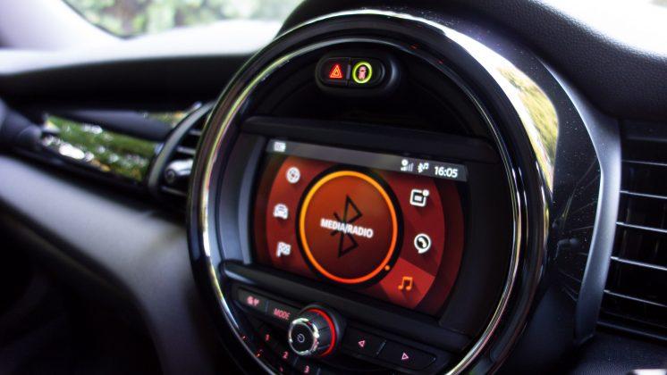 Mini Electric interior trim