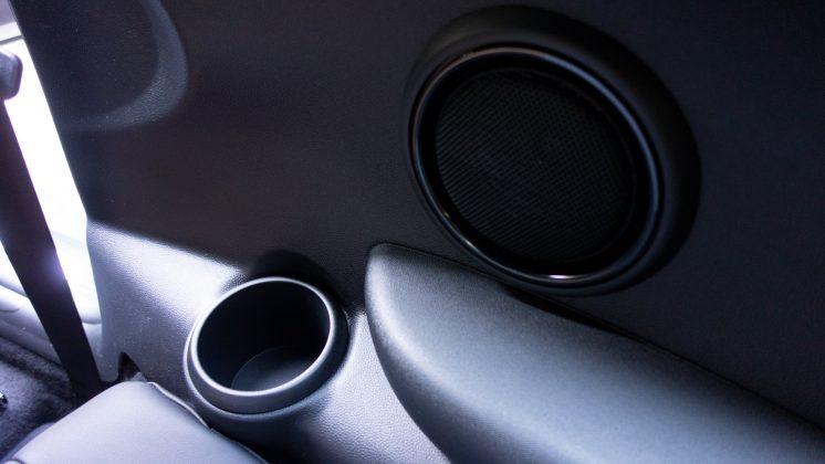 Mini Electric rear cupholder