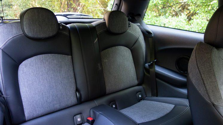 Mini Electric rear seats