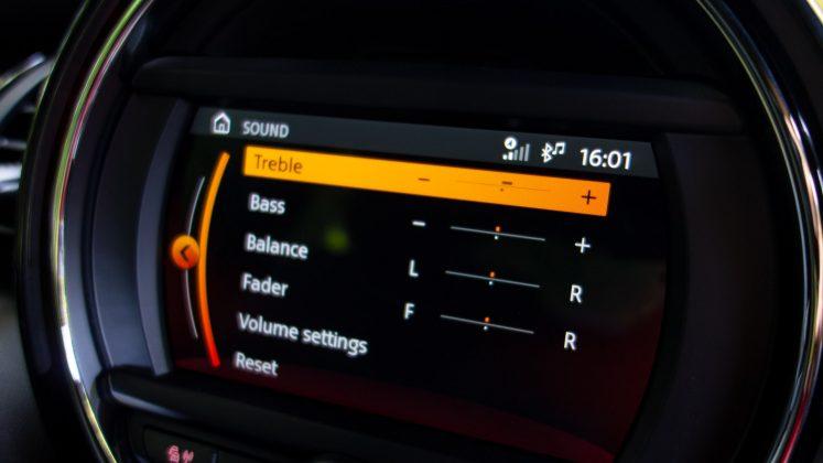 Mini Electric sound settings