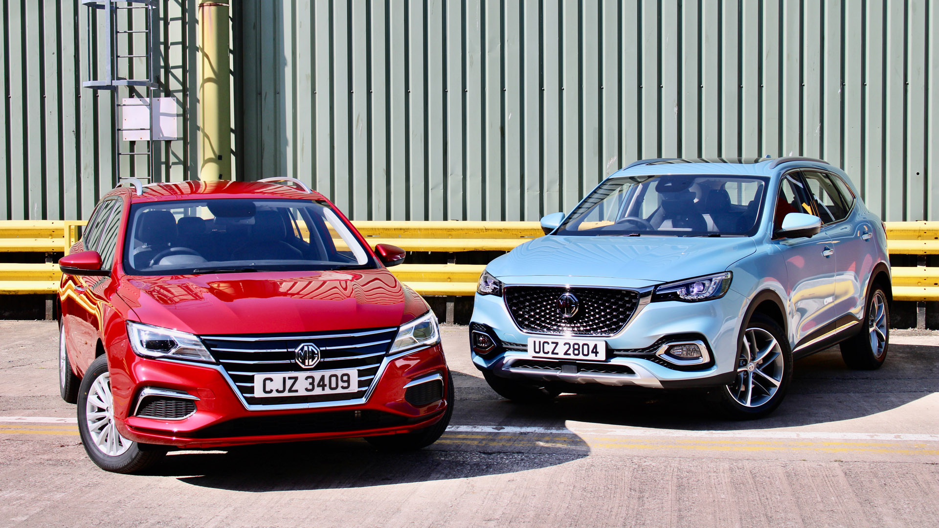 New MG cars
