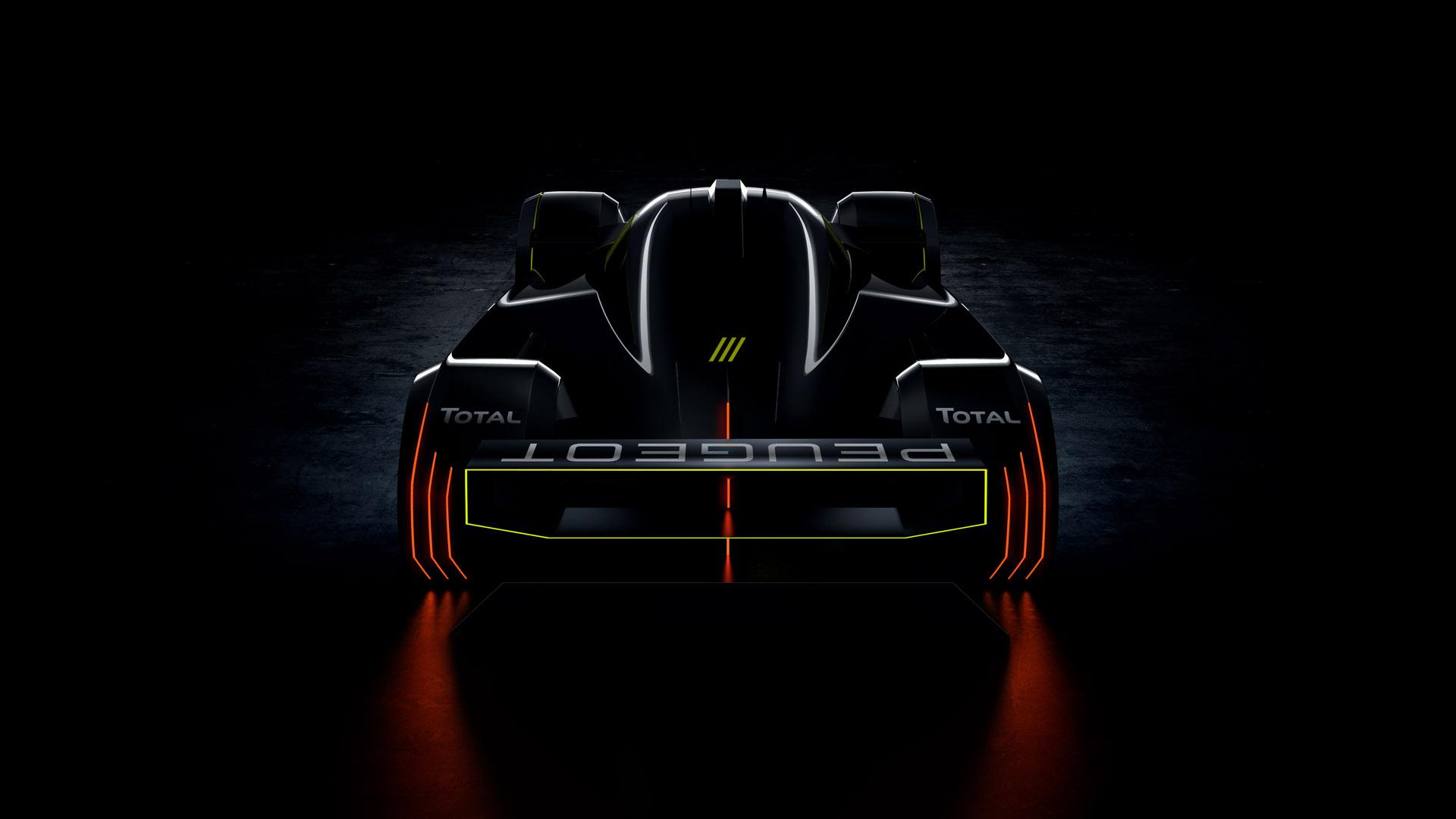 Peugeot Le Mans Hypercar back