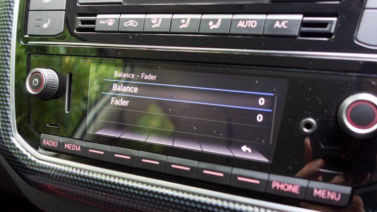 Volkswagen e-up! balance