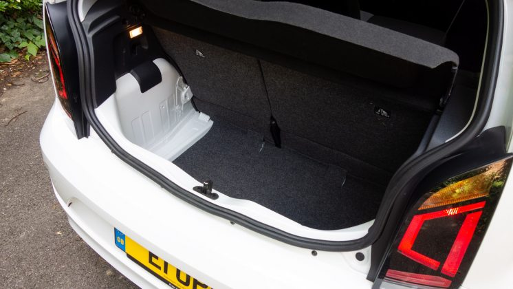 Volkswagen e-up! boot space
