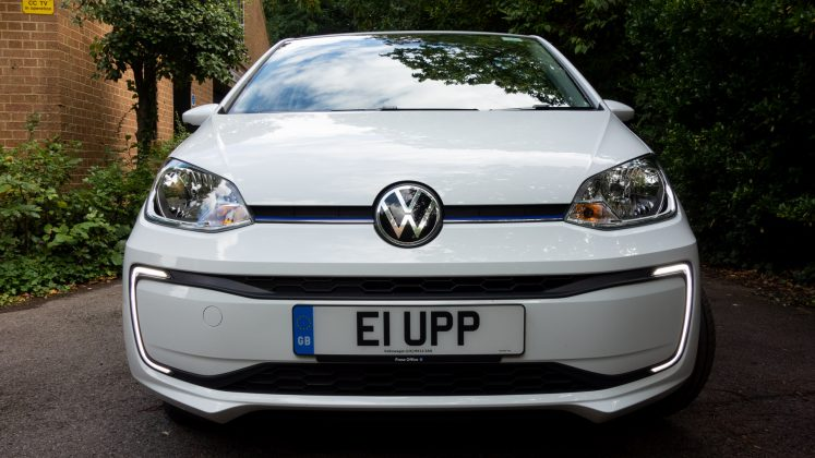 Volkswagen e-up! front design