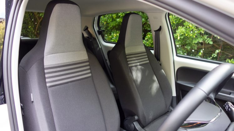 Volkswagen e-up! front seats