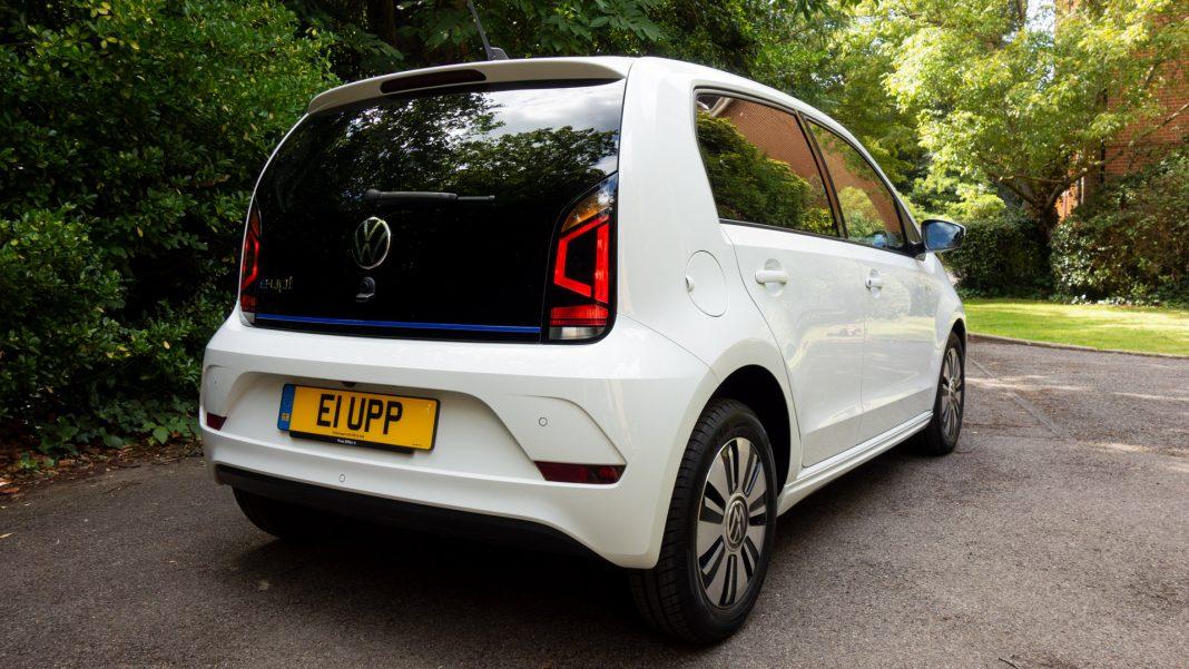 Volkswagen e-up! rear design