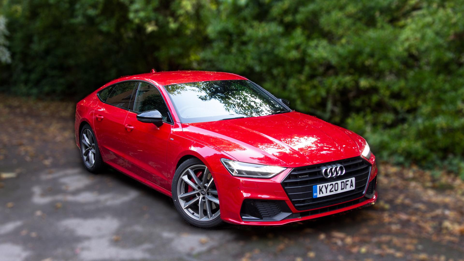 Audi A7 TFSIe audio review