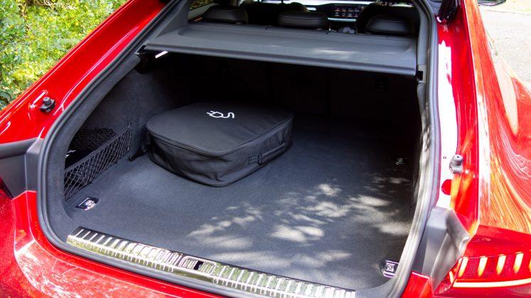 Audi A7 TFSIe boot