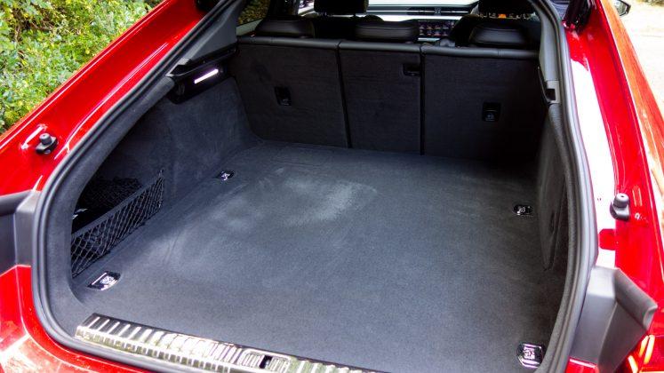 Audi A7 TFSIe boot space