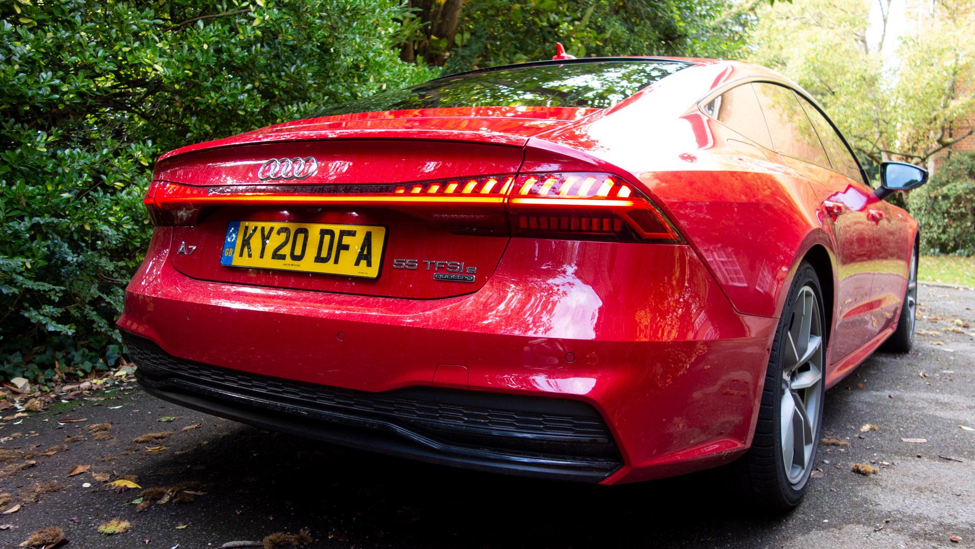 Audi A7 TFSIe colour