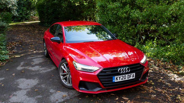Audi A7 TFSIe design