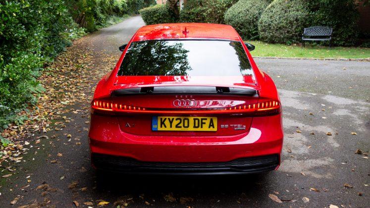 Audi A7 TFSIe downforce