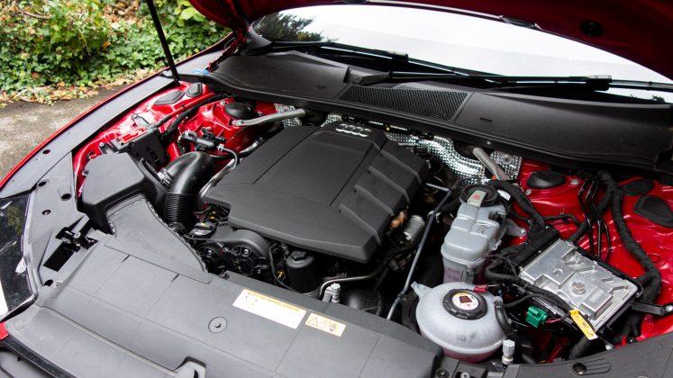 Audi A7 TFSIe engine