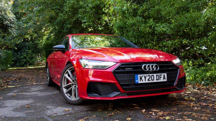 Audi A7 TFSIe front