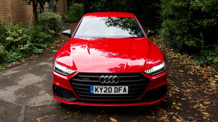 Audi A7 TFSIe front downforce