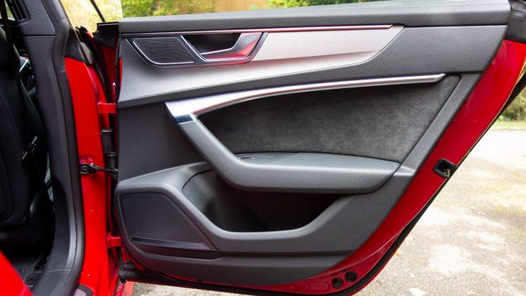 Audi A7 TFSIe rear door