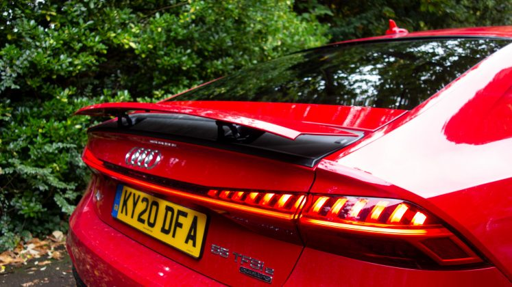 Audi A7 TFSIe spoiler