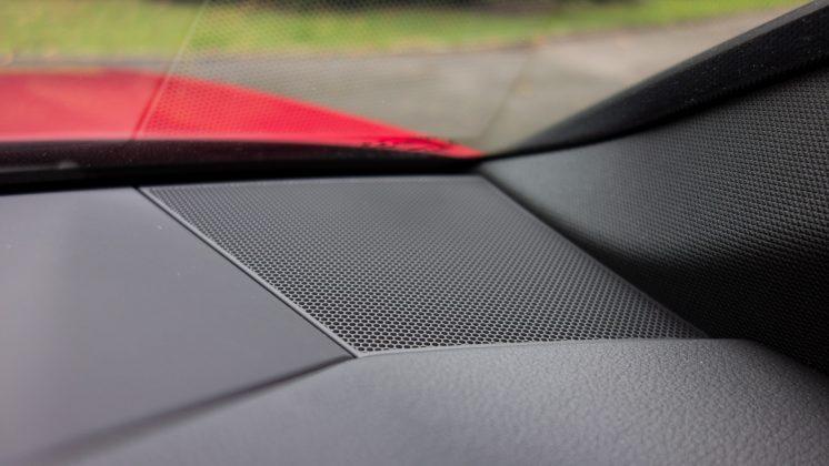 Audi A7 TFSIe tweeter