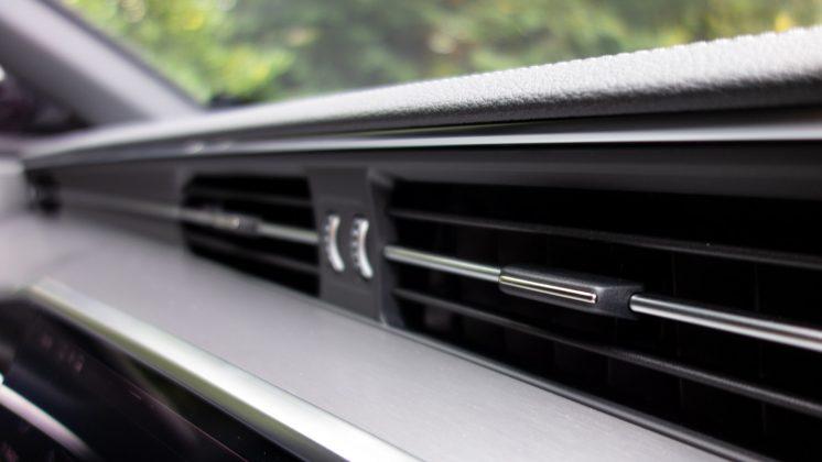 Audi A7 TFSIe vents