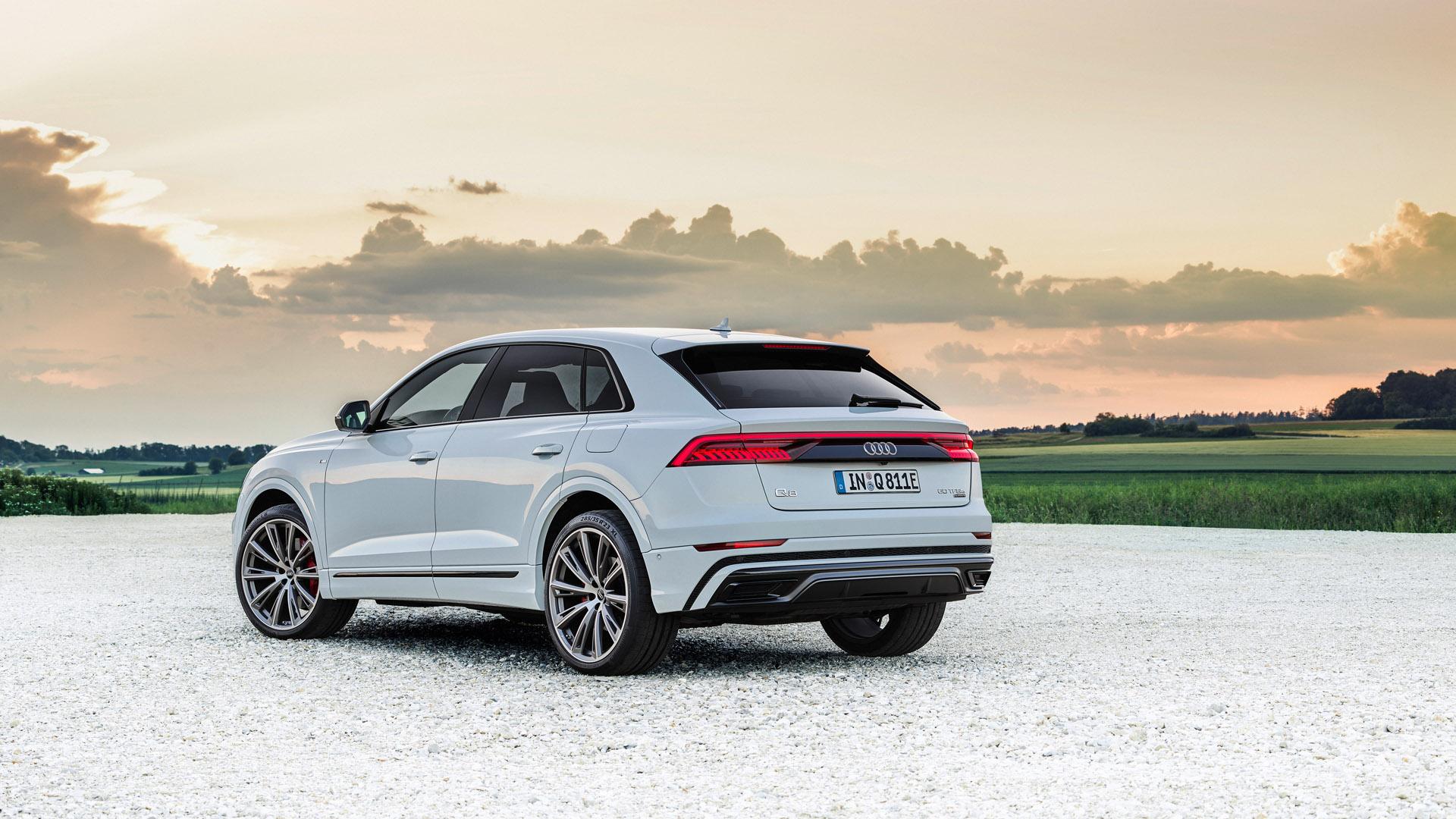 Audi Q8 TFSI e rear