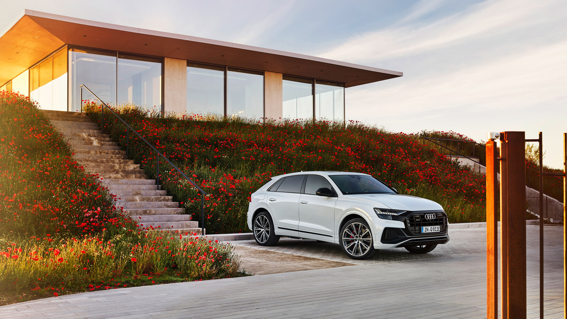 Audi Q8 TFSI e space