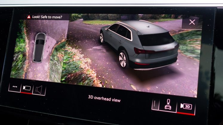 Audi e-tron 3D camera