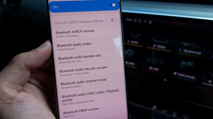 Audi e-tron Bluetooth