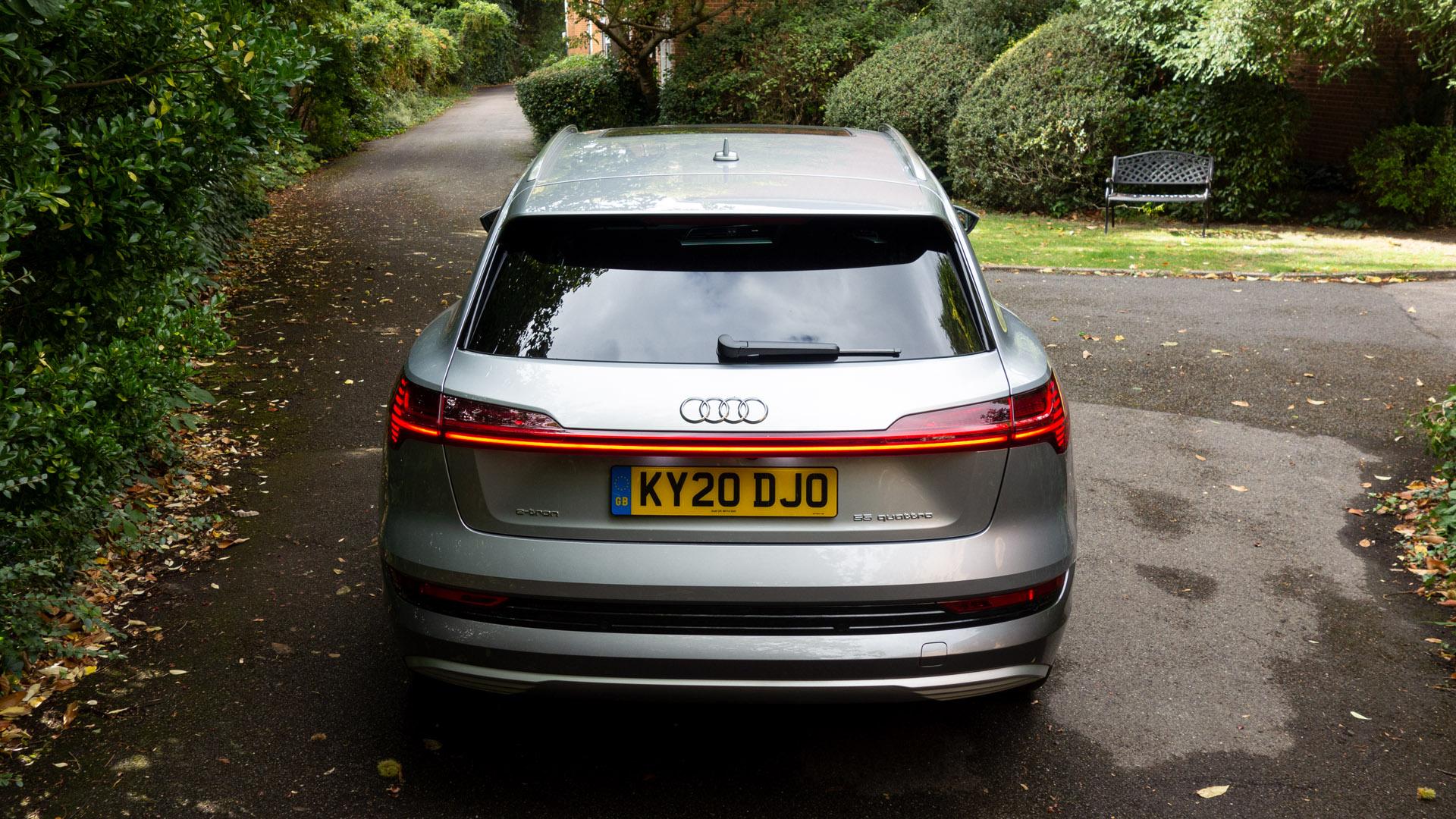 Audi e-tron boot design