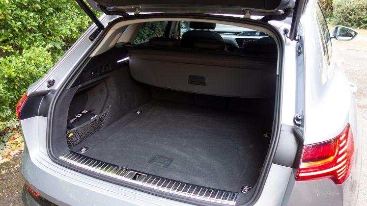Audi e-tron boot lid