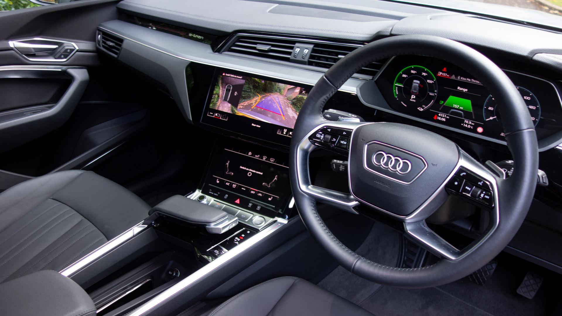 Audi e-tron cabin
