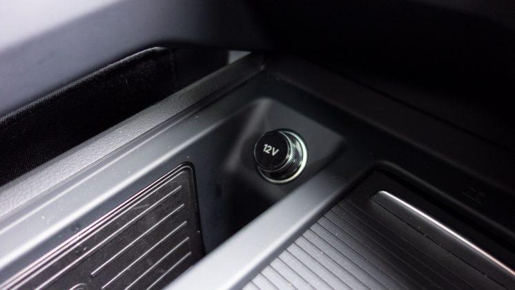 Audi e-tron front charging