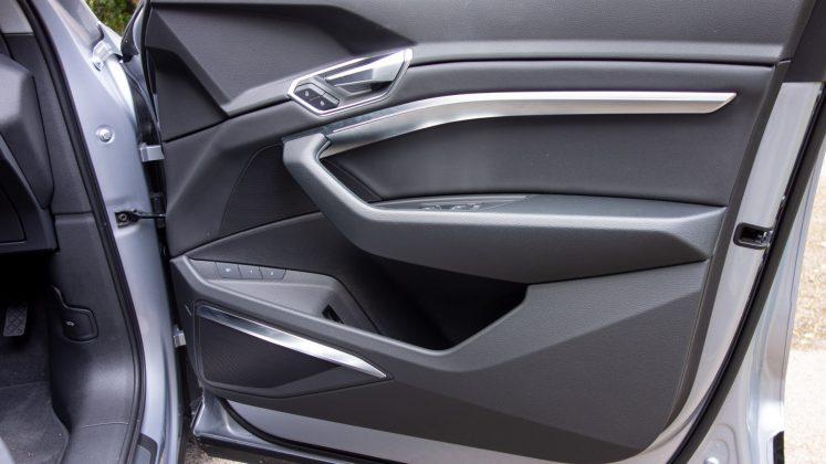 Audi e-tron front door