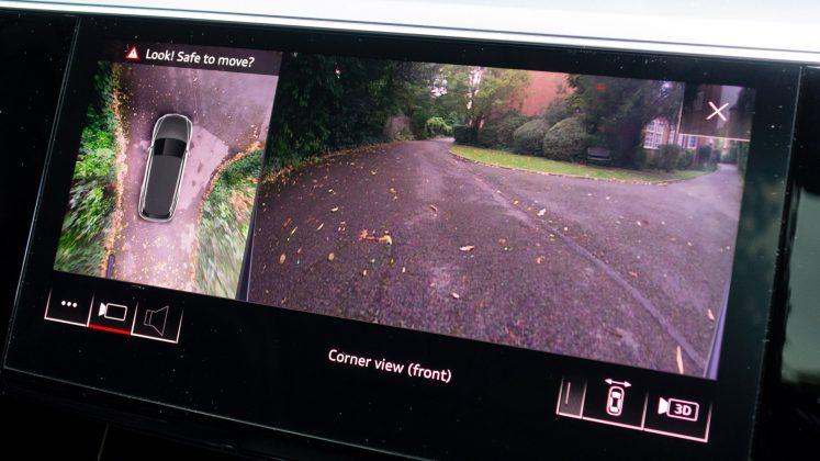 Audi e-tron rear camera