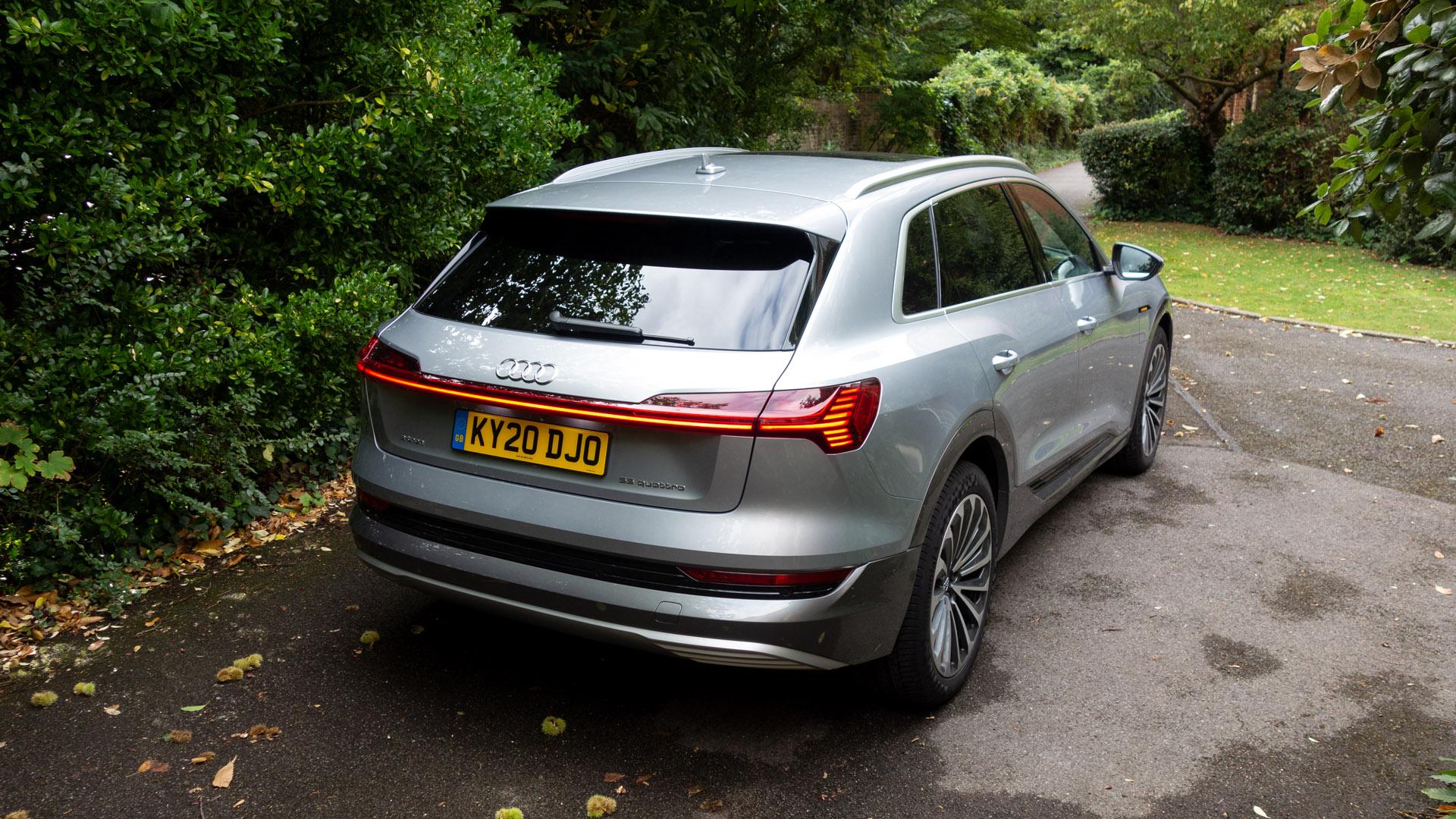 Audi e-tron rear design