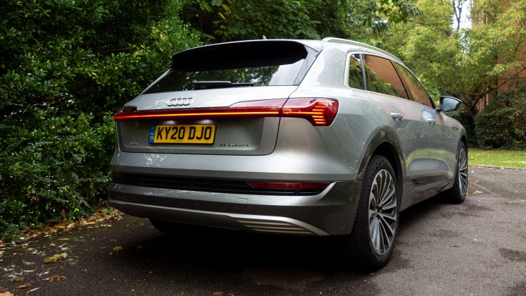 Audi e-tron rear look