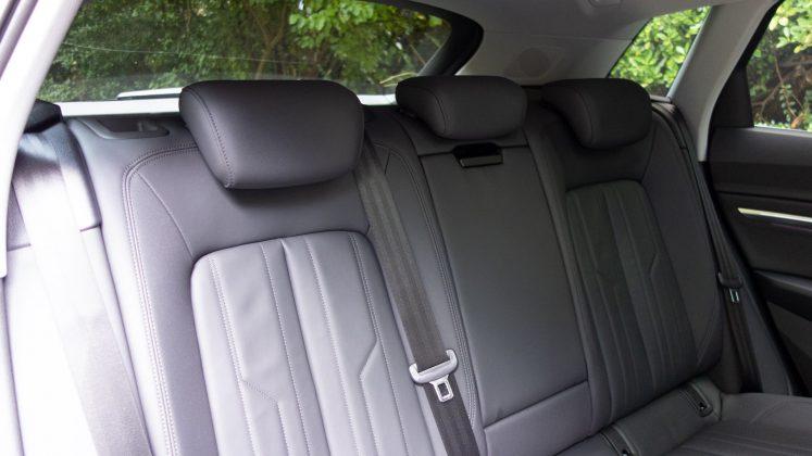 Audi e-tron rear seats