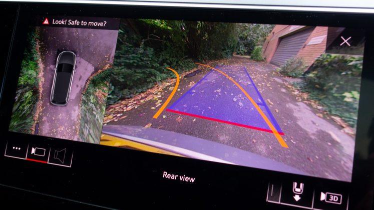 Audi e-tron reversing camera