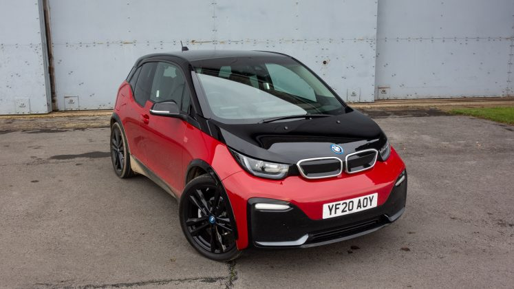 BMW i3s 120Ah range