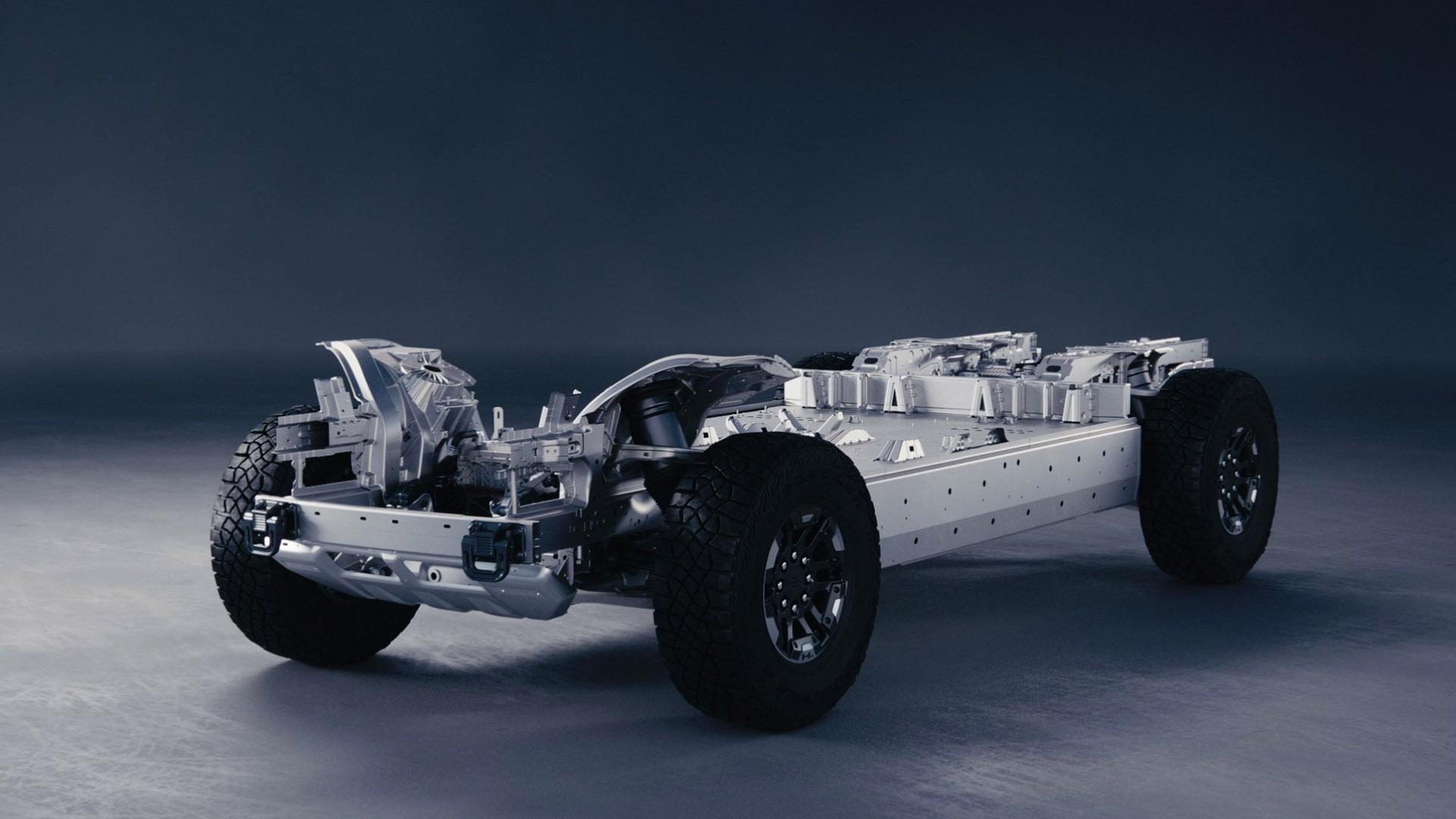 GMC Hummer EV battery