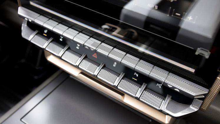 GMC Hummer EV buttons