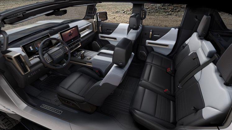 GMC Hummer EV cabin